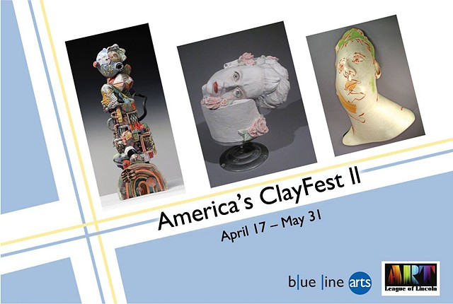 Americas Clay Fest 2 Blue Line Arts Gallery, Roseville CA First Place Award