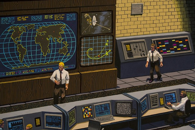 Mission Control, detail 1