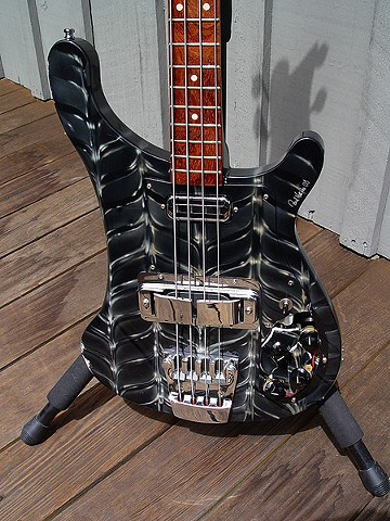 "Chris Squire's ""Fish Out Of Water"" Rickenbacker 4003 Bass Restoration--Body Looks ""Almost OK"" From a Distance"