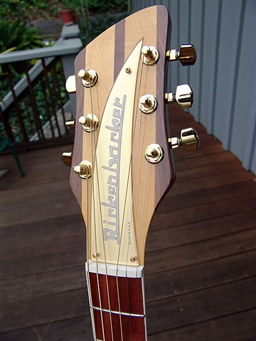 Headstock Close Up