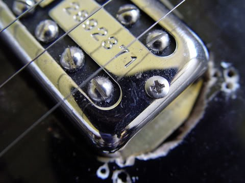 Gretsch Custom 120th Anniversary Pro Jet--Close Up of Butchery