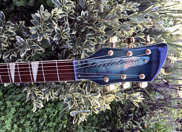 Headstock with New Full-Color Nameplate