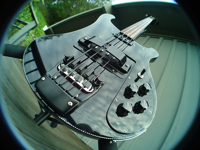 "Rickenbacker ""Shadow"" Fretless 4003 Bass--Supplicant's Eye View"