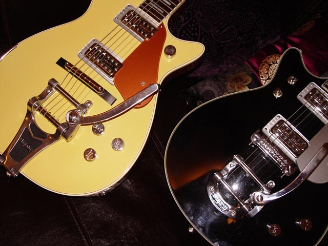 Gretsch Custom 120th Anniversary Pro Jet--Close Up of Top