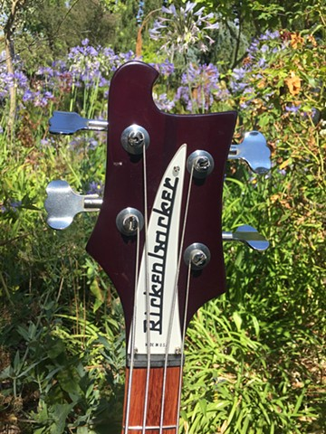 HEADSTOCK WITH ORIGINAL NAMEPLATE AND TUNERS