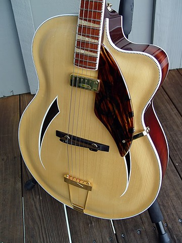 "Rickenbacker ""Jazzbo"" 760J--Another Front View"