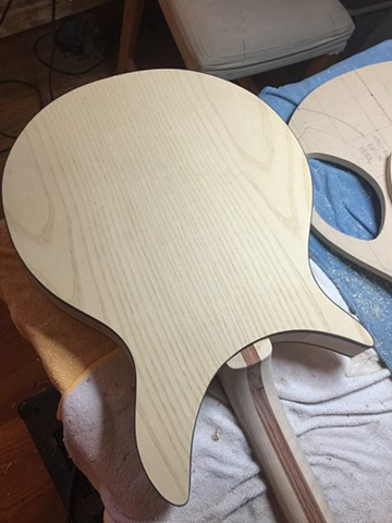 ASH PLYWOOD BACK