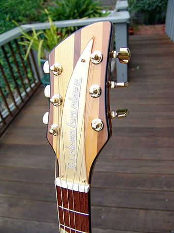 Rickenbacker Acoustic--700C/6 Mapleglo--Bound Headstock with Special Gold Nameplate