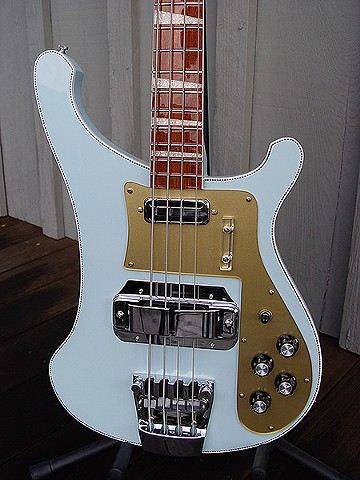 Rickenbacker Blue Boys--'72 4001--Close Up of Front