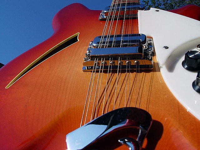 Rickenbacker 1967 360/12 Restoration--Worm's Eye View