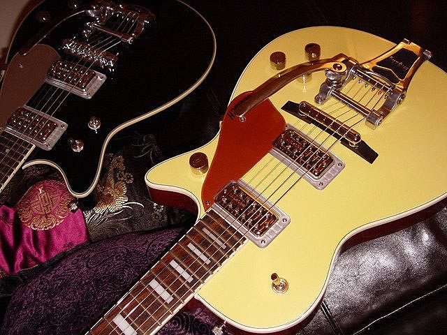 Gretsch Custom 120th Anniversary Pro Jet--Top From Another Angle