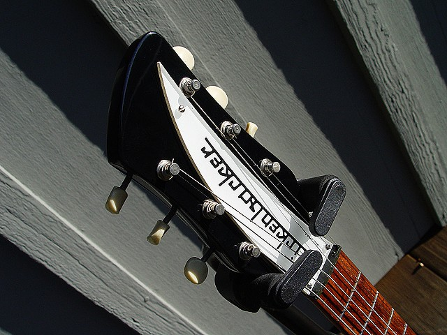 Headstock with Original Kluson Tuners and '67 Silk Screened Nameplate