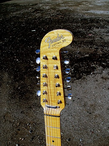 Fender Electric XII Custom Light Show in Prismatic Lime Green--Highly-Figured AAAAA Maple Neck and Headstock