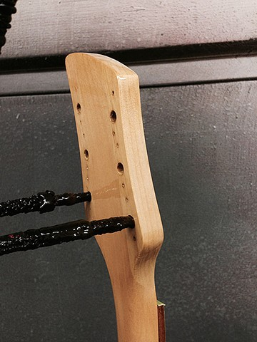 Newly-Restored Headstock