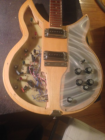 ORIGINAL-STYLE RICKENBACKER 331 LIGHT SHOW GUITARS