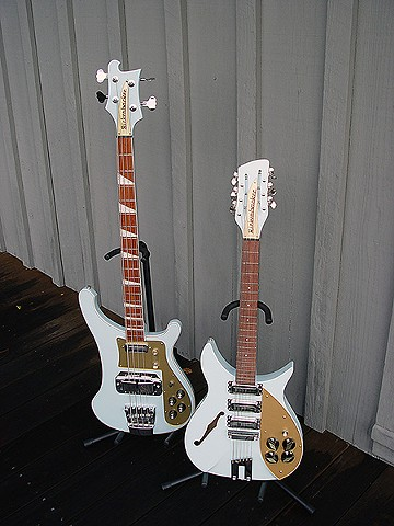 Rickenbacker Blue Boys--'72 4001 and Factory One-Off 325/12