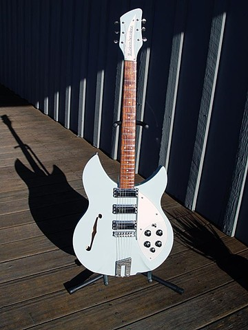 Rickenbacker RM 1998 in Custom Blue Boy  Finish--Full-Length Portrait