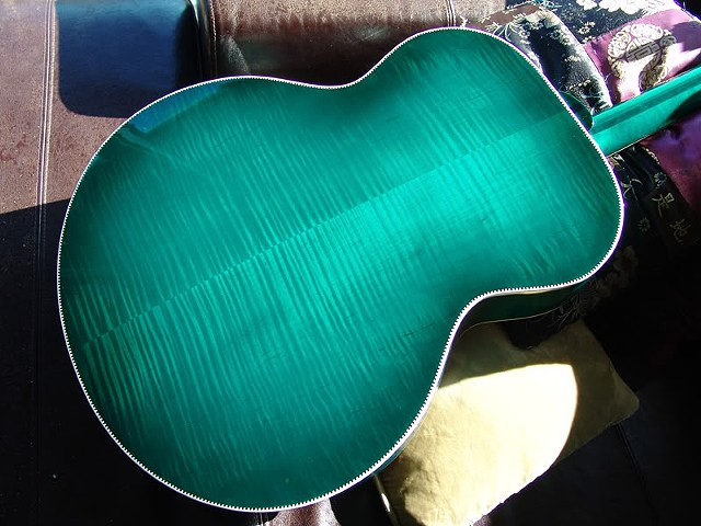 Spruce Greenburst Back in AAAAA Maple