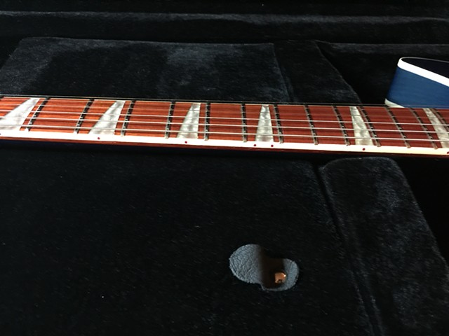 DETAIL OF FRETBOARD