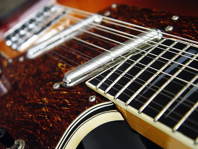 Charvel Surfcaster 12-String Restoration--Extreme Close Up of Neck-to-Body Joint