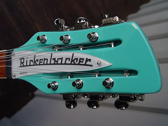Rickenbacker 370/12 Sea Green With Piezo Pickup--Striking Headstock!