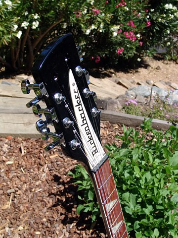 Rickenbacker Dave Stewart 360/12 Eurythmics--Headstock Detail