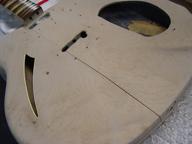 Rickenbacker 1968 366/12 Restoration--Split Top, From Climate Extremes