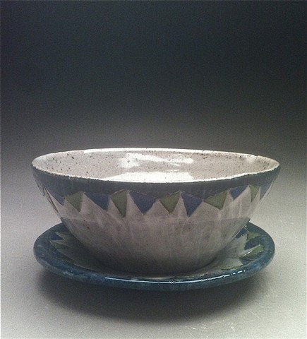 Bowl and plate
