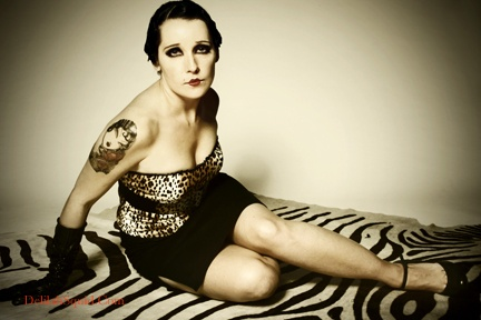 Testimonials Delilah Squid Photography pin up photography pinup cheesecake leopard print tattoos finger waves Victoria British Columbia Vancouver Island
