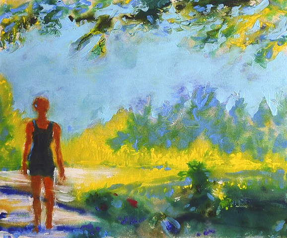 painterly abstract landscape hartley marin dove figure