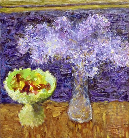painterly abstract landscape hartley marin dove still life lilac
