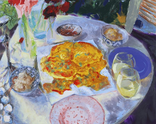 painterly abstract landscape hartley marin dove tableaux food wine
