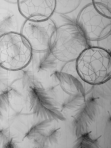 Dreamcatchers (detail)