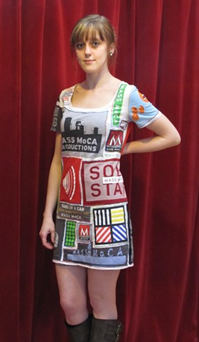 mass moca tshirt dress