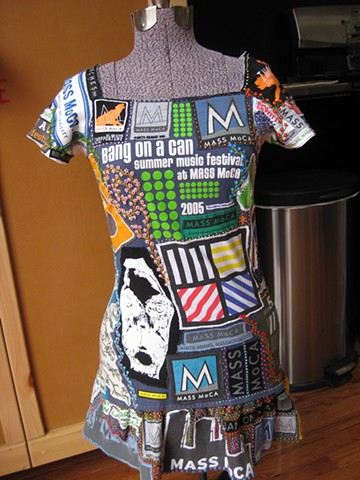 mass moca tshirt dress