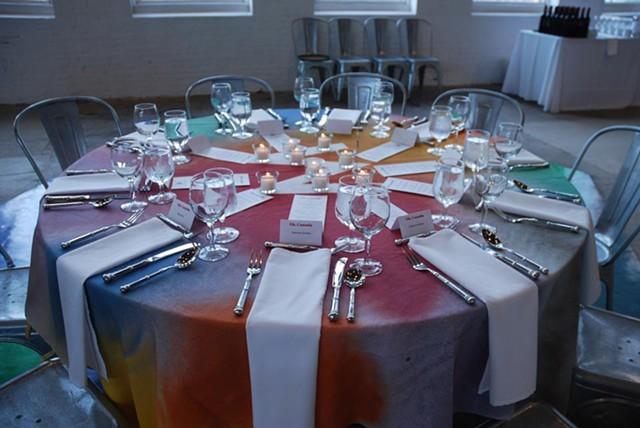 MoCA Tablecloths