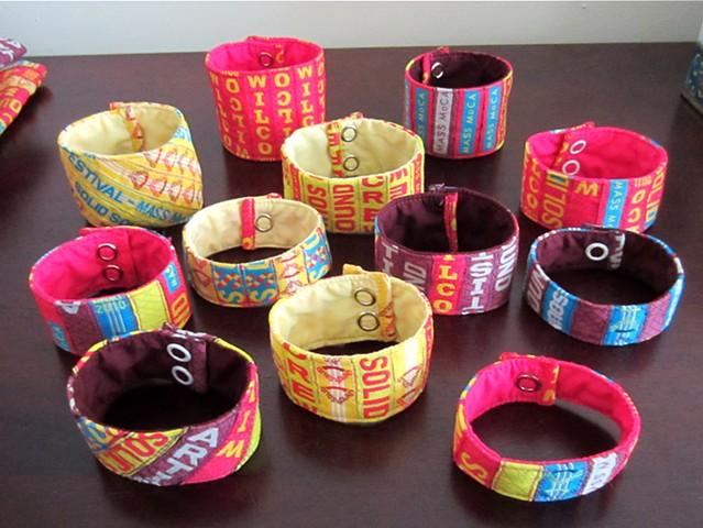 solid sound festival wristband bracelets