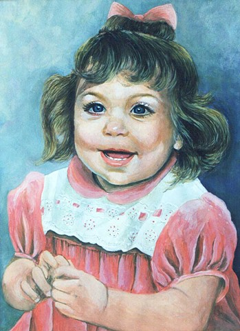 Portrait Painting by Diane Daversa
