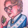 "Mrs. Doubtfire.  ""It was a run-by fruiting"""