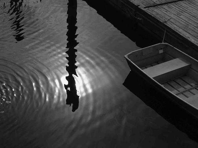 Perkins Cove Circular Reflections