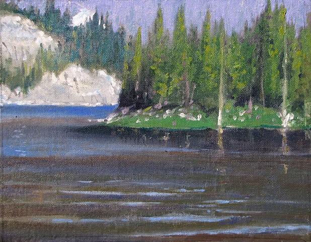 Mirror Lake Snowy Range