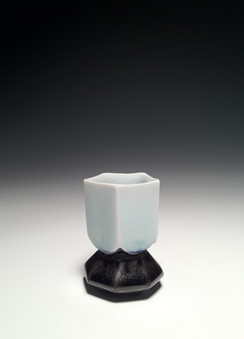 Diamond Flower Shot / Sake Composite Cup