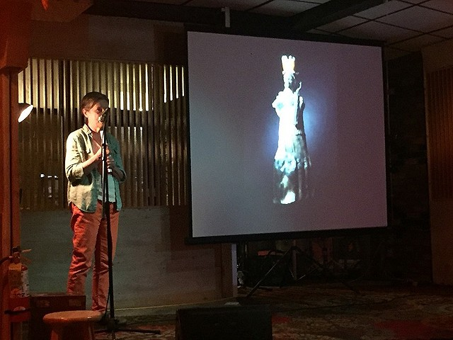 Pecha Kucha at Quinn's in Beacon, NY 2016