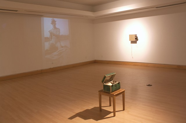 Is this when the grass gets greener? [installation view]