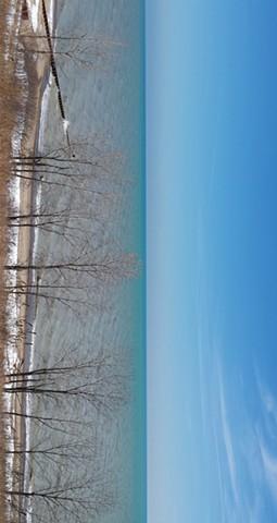 Lake Michigan from the Bluff at Ft. Sheridan