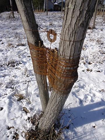 Wire Tree Wrap, part 1