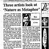 DeKalb Daily Chronicle, Ben Mahmoud Review- 1999