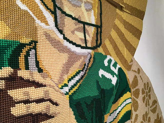 Detail - Aaron Rodgers!!
