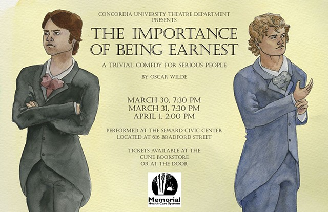 The Importance of Being Earnest poster No. 1