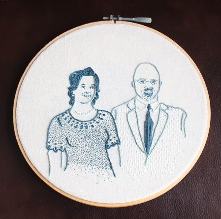 Portrait of Mom and Dad